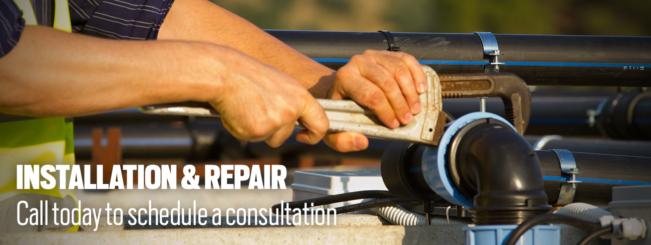Installation & Repair - Call today to schedule a consultation